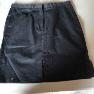 NAT Tommy Hilfiger black cotton skirt size 14